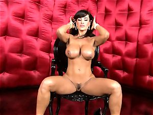 sexy Lisa Ann exposes her ginormous sugary-sweet knockers