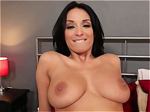 French honey Anissa Kate plowed and creampied in point of view