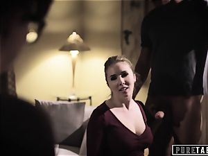 pure TABOO Lena Paul persuaded into assfuck with Bosses spouse
